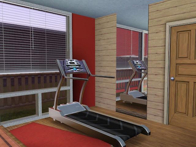 salle de sport maison sims 3