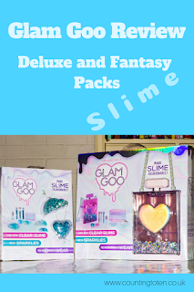 Review of Glam Goo Slime Deluxe and Fantasy Packs