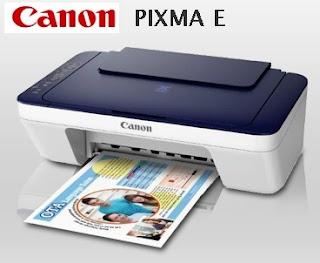 Canon PIXMA E477 Drivers & Software Free Download