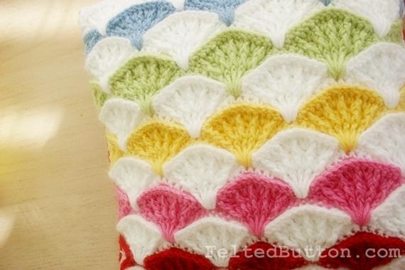 Paintbrush Pillow & Afghan Crochet Pattern