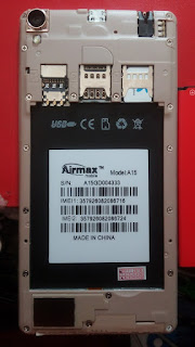 Airmax a15 flash file100% tested  without password