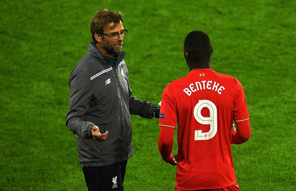 Christian Benteke could leave Liverpool, says Klopp