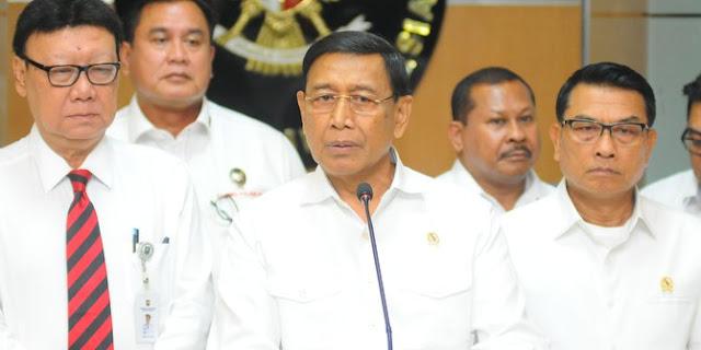 Wiranto: Saya Menkopolhukam, Kalau Pemilu Curang Tentu Saya Terlibat