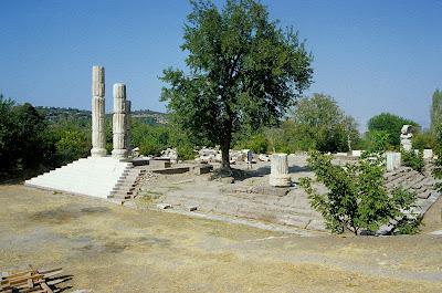 Situs Apollon, Canakkale di Turki