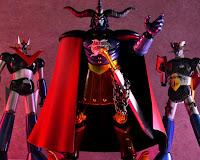 """Preview de Ankoku Daishogun de la película """"Shin Mazinger ZERO vs Ankoku Daishogun"""" - Bandai Figuarts Zero"""