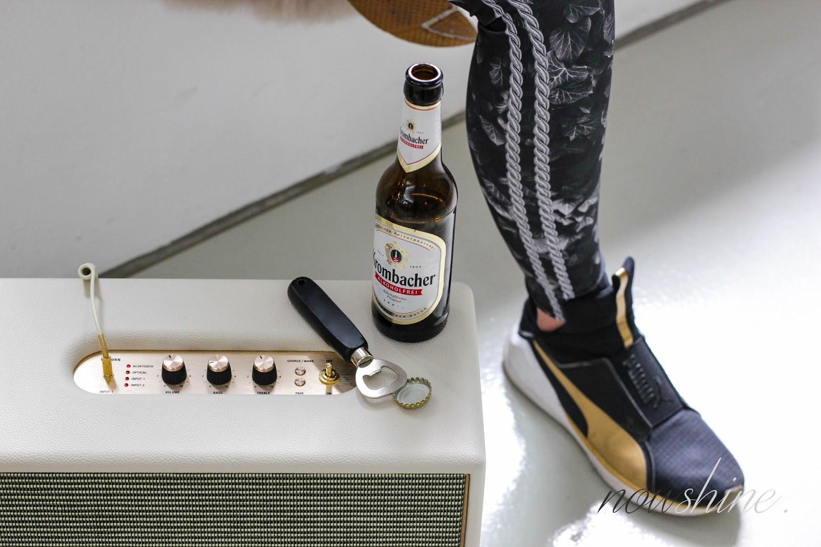 Fitness Inspiration mit Krombacher Alkoholfrei / Nowshine ü 40 fashion, lifestyle & fitness