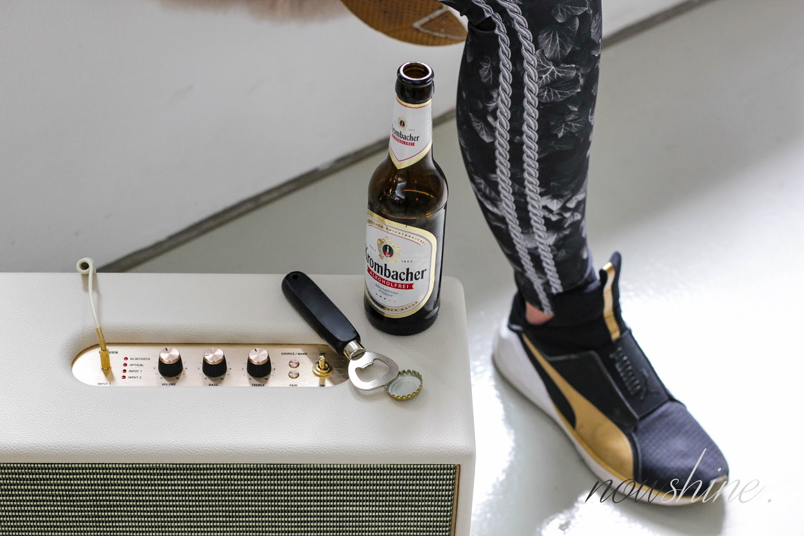 Fitness Inspiration mit Krombacher Alkoholfrei / Nowshine ü 40 fashion, lifestyle & fitness