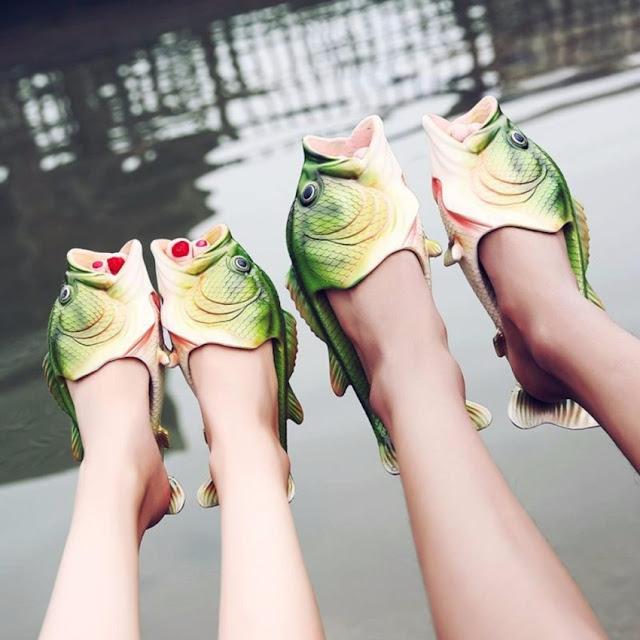 รองเท้ารูปปลา