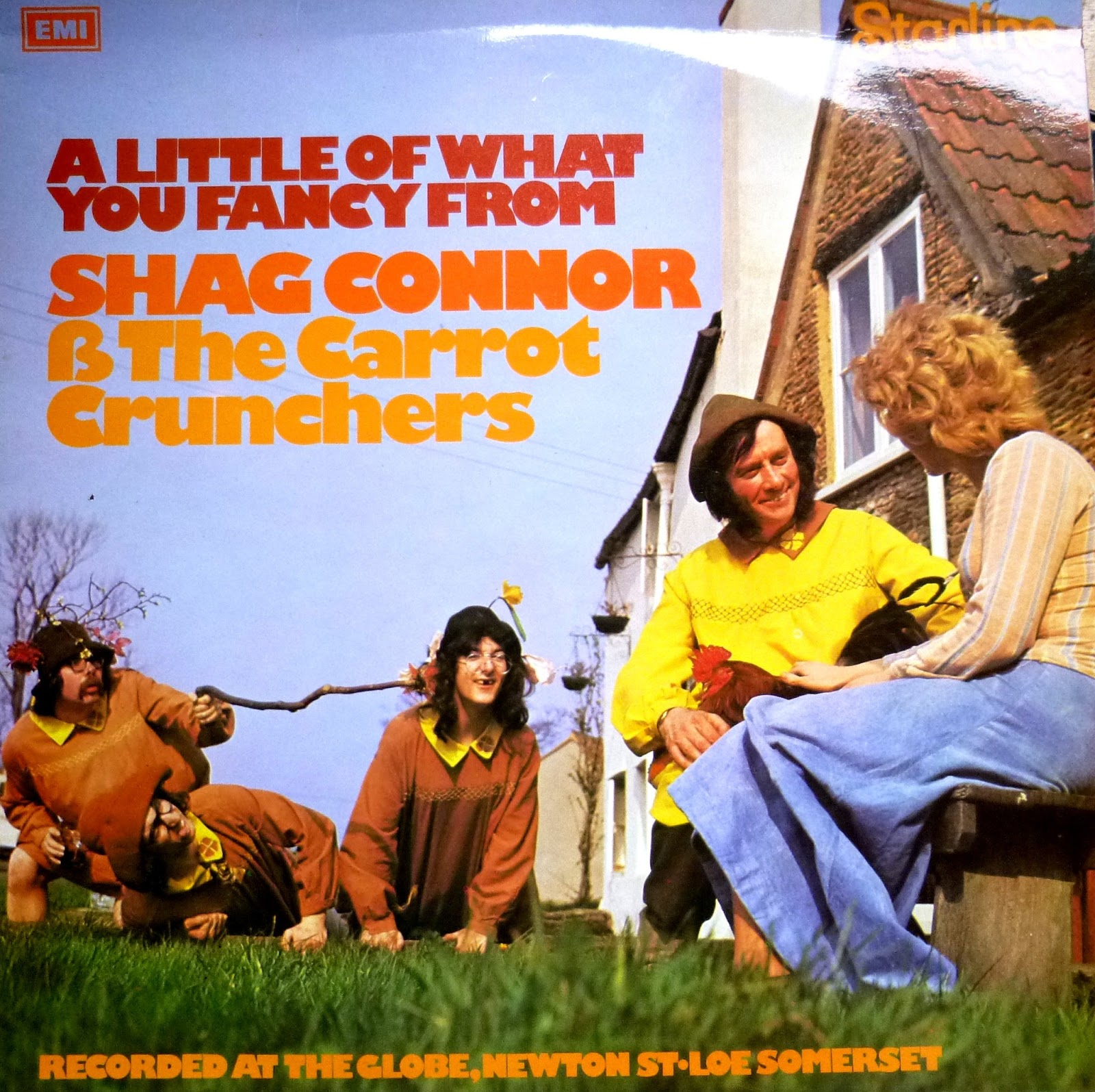 An Lp on the cheapo Starline label from 1974 featuring Shag Connors & The  Carrot Crunchers who were similar the Wurzels but did vary their act to  include ...