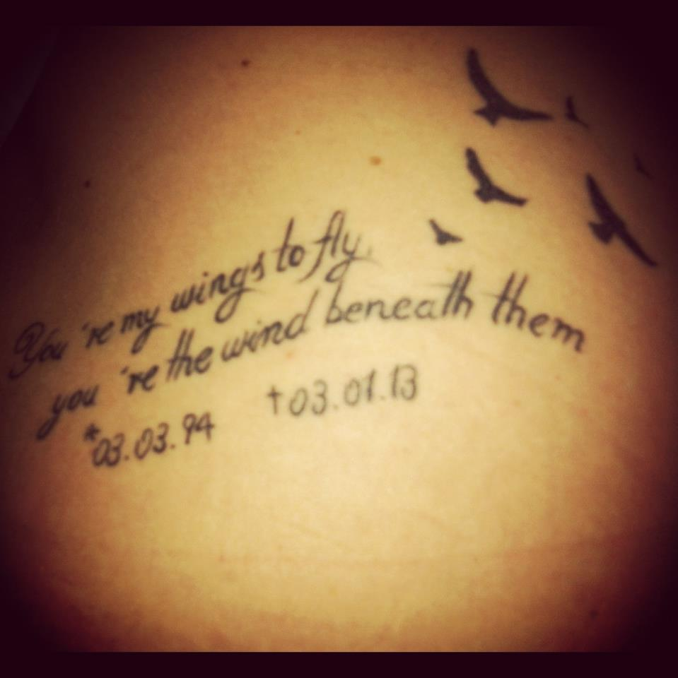 Tattoo Designs Writing: Two Word Quotes For Tattoos Latin, Writing Tattoo Ideas