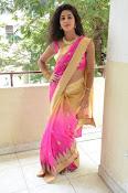 pavani new photos in saree-thumbnail-23