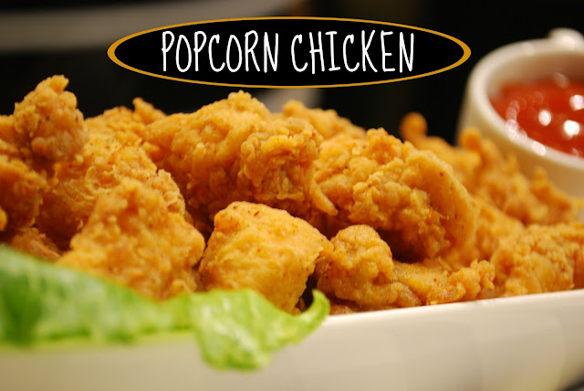 how to make chicken popcorn at home | popcorn chicken | popcorn chicken recipe