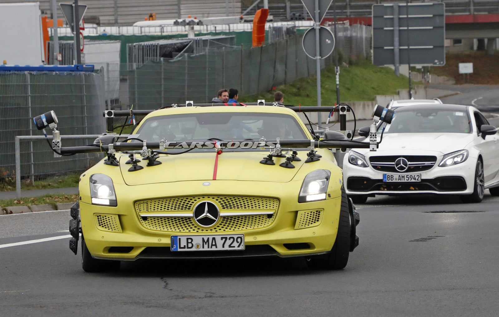 Sonax Amg Mercedes Clrp Lmp1: Mercedes SLS AMG Electric Drive Makes A Surprising Return