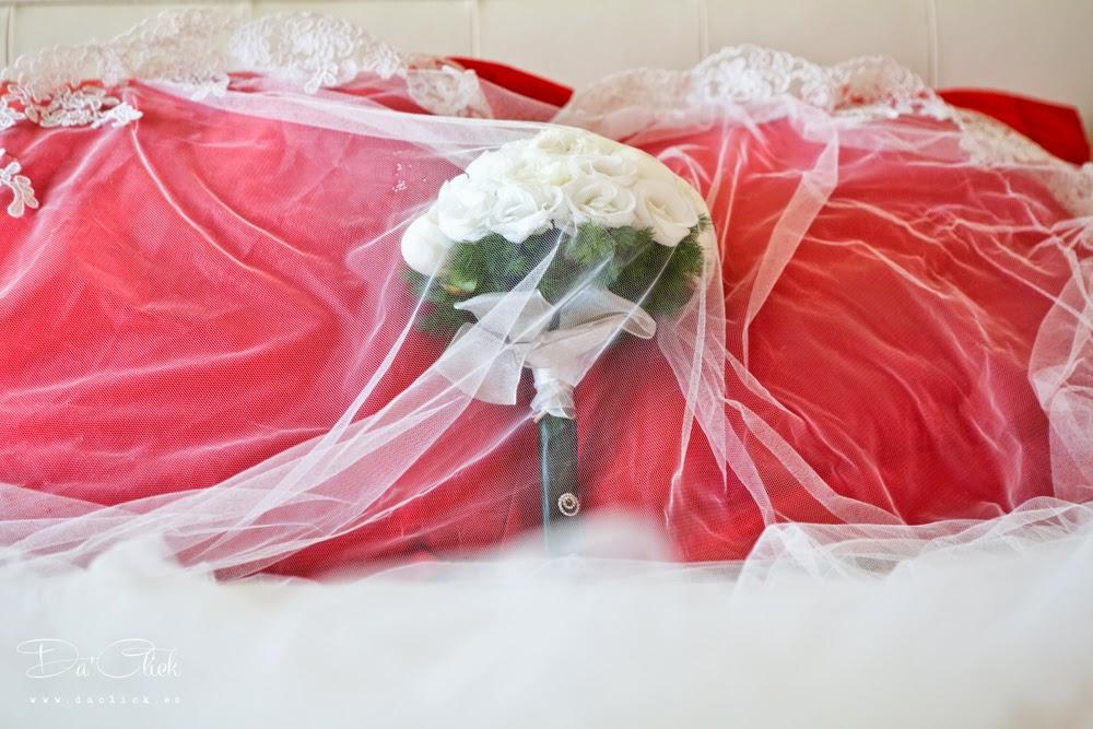 ramo de novia velo de novia