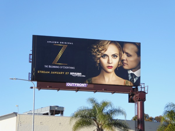 Z Beginning of Everything series billboard