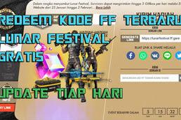 Kode Redeem Lunar Festival Free Fire Gratis, Update Tiap Hari