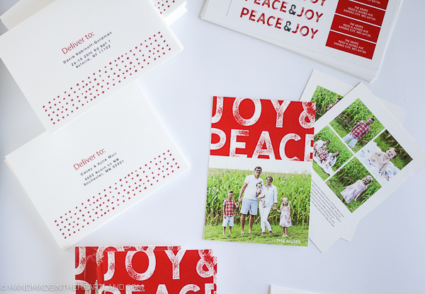 where to print your Christmas cards online
