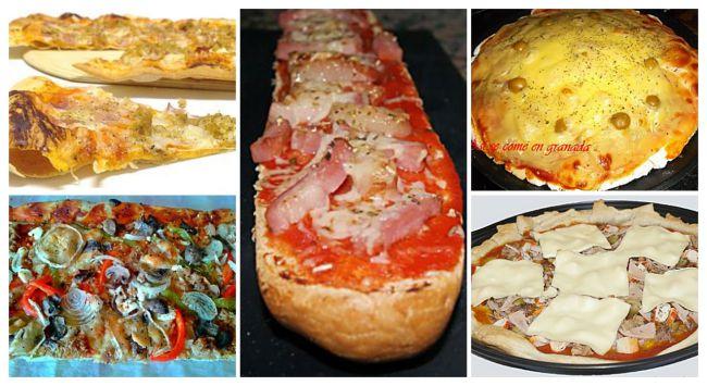 5 recetas de pizzas caseras