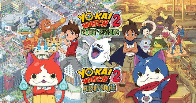 Ya disponible la demo de Yo-kai Watch 2 en la e-Shop de 3DS