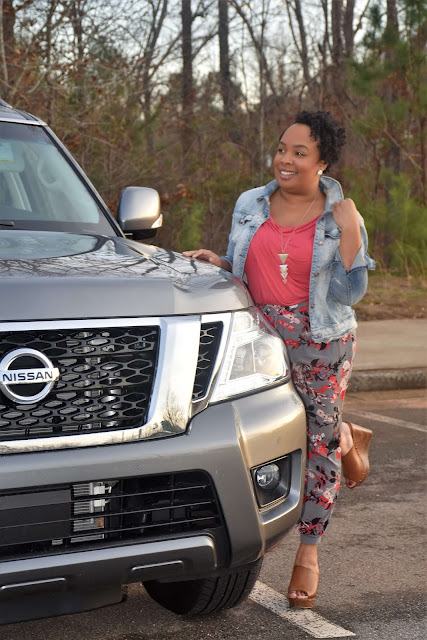 Cruising Around Atlanta in the 2019 Nissan Armada SV 4WD  via  www.productreviewmom.com