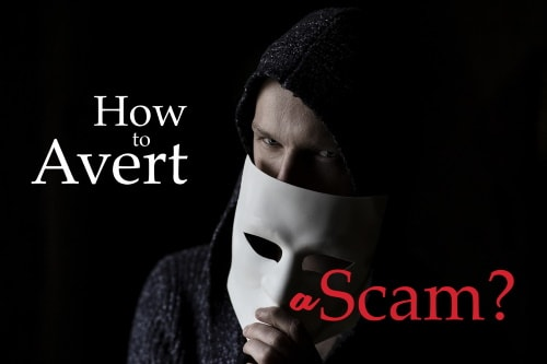 how to avoid scams?