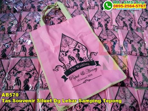 Harga Tas Souvenir Siluet Dg Lebar Samping Tepong