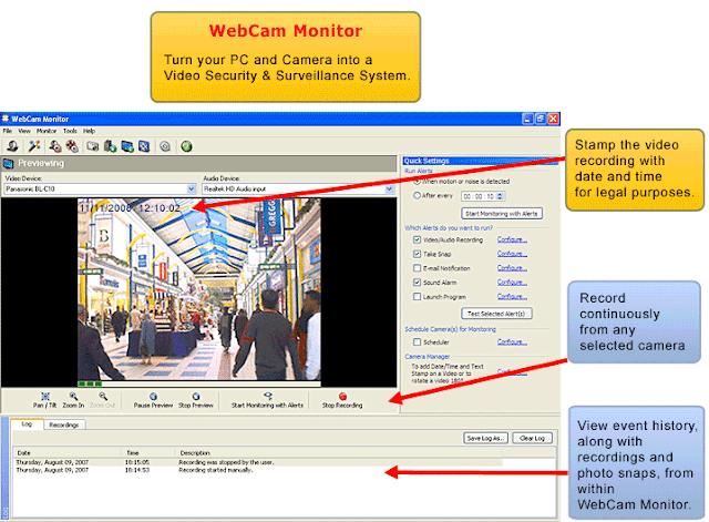 WebCam Monitor lizenzschlüssel