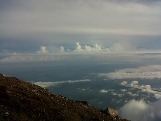 1. Gunung Slamet .