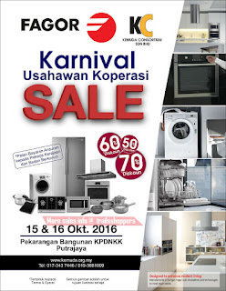 Fagor Usahawan Koperasi Karnival Sale 2016