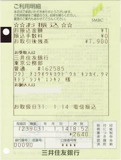 銀行番号 三井住友