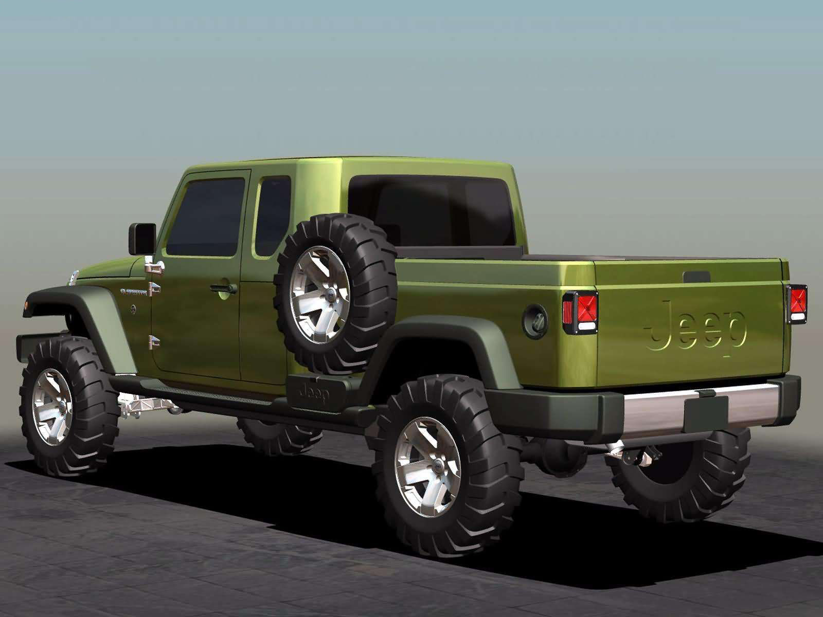 Jeep Models List >> 2005 JEEP Gladiator Concept pictures, review