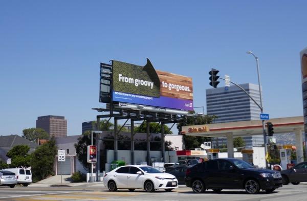 SoFi no fee loans groovy gorgeous billboard