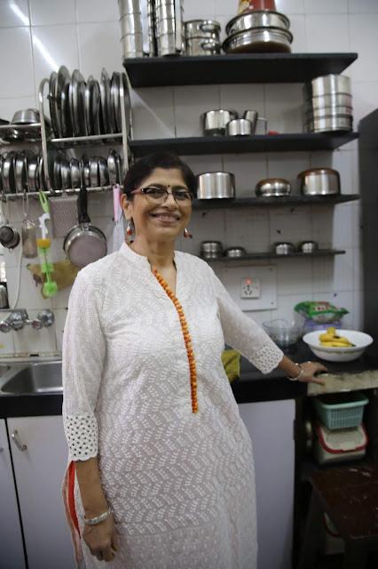 Jyoti Vora, Bombay supper club via Authenticook pic: Kerstin Rodgers/msmarmitelover.com