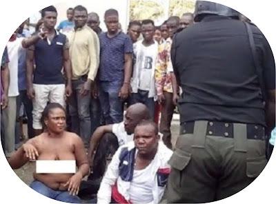Port Harcourt female robber