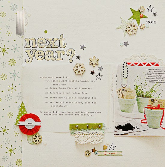 Sian Fair scrapbooking Christmas