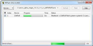 Cara Flash Redmi 3S Pada Win7 32 Bit Via MiFlash