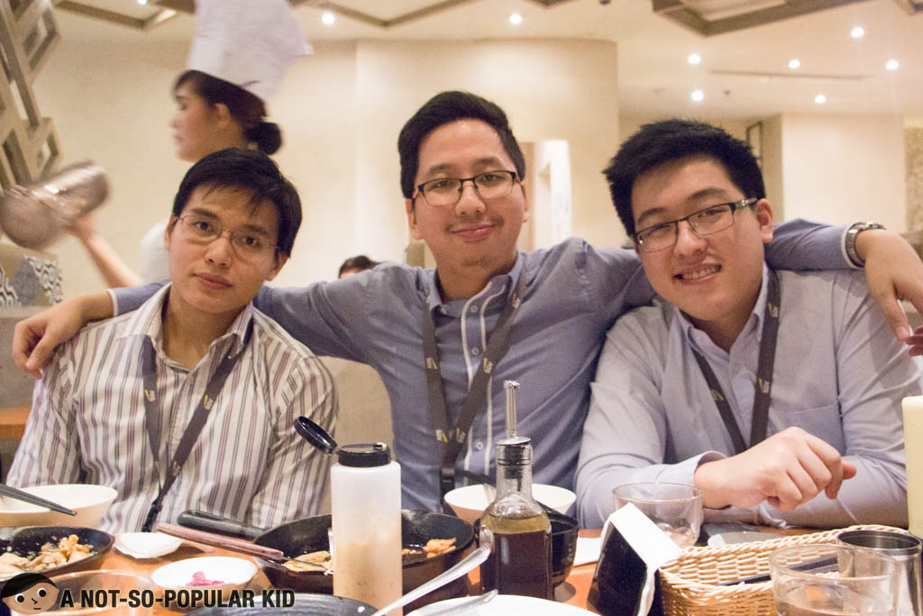 Myles Sia, Troy Palanca and Renz Cheng circa 2015