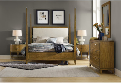 Relaxing bedroom furniture from Baer's