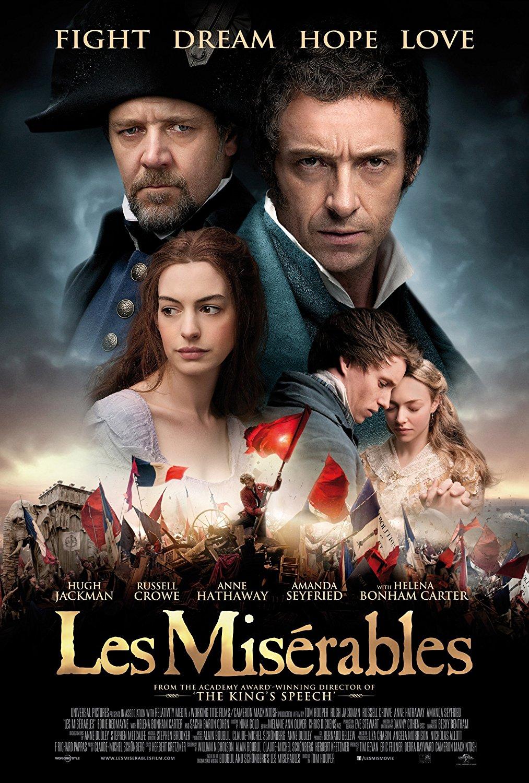 les miserables nędznicy film recenzja jackman crowe hathaway redmayne