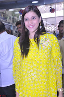 Mannara Chopra Looks Cute in Yellow Salwar Suit ~  Exclusive 13.JPG