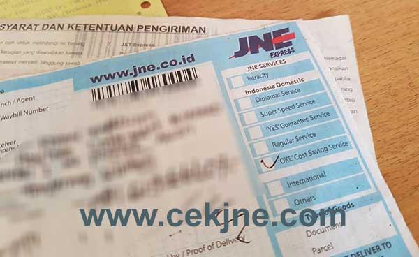 Cara Cek Nomor Resi JNE Kiriman Aceh Selatan