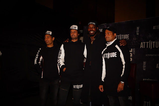 LONDON AND BANGALORE BASED ATTIITUDE.COM SIGNS UP CHRIS GAYLE AS ITS GLOBAL BRAND AMBASSADOR