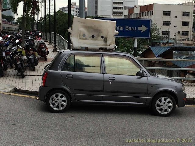 Ikut suka hati parking kereta