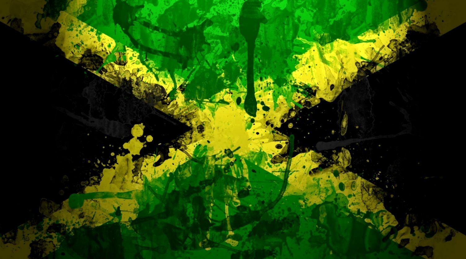 Jamaica Flags Wallpaper Background WallpaperSafari