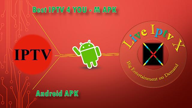 Best IPTV 4 U APK