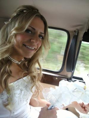 Soft bridal waves with tiara