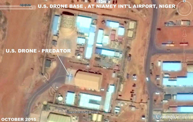 Image Attribute: Aerial image of Niamey Int'l Airport, Niger, October 2015.Photo: Google Earth