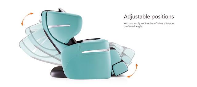 OSIM uDIVINE V MASSAGE CHAIR Adjustable Position