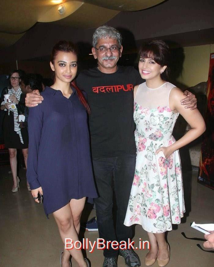 Radhika Apte, Sriram Raghavan, Yami Gautam, Hot Images OF Manasvi Mamgai, Huma Qureshi, Sonakshi Sinha At  'Badlapur' Special Screening