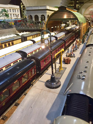 Brighton Toy and Model Museum Running Day, Hornby, Marklin, Bassett-Lowke, Minic, Tri-Ang, Train Station, Toys, Models